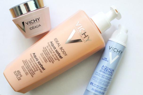 3 nouveautés visage + corps Vichy