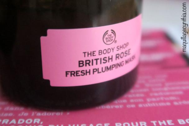 Masque Rafraîchissant Peau Rebondie à la Rose Anglaise The Body Shop