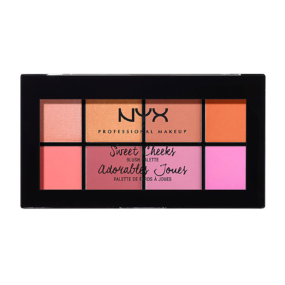 Palette de fards à joues Sweet Cheeks de NYX
