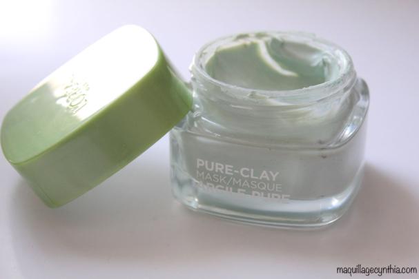 Masque Pure Clay Eucalyptus Vert