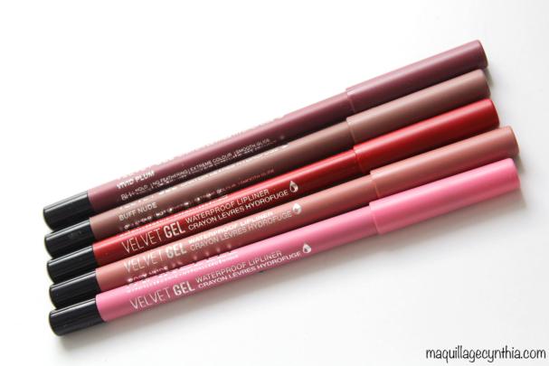Crayon Lèvres Hydrofuge Velvet Gel