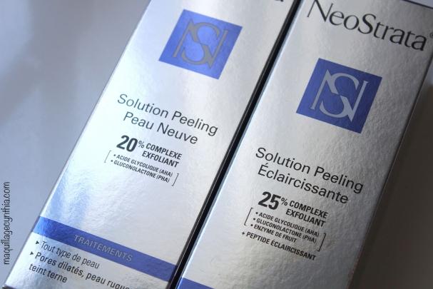 Les Solutions Peeling Neostrata