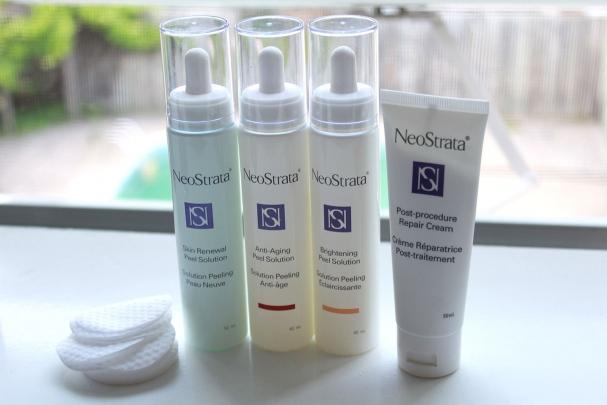 J'ai testé : les Solutions Peeling Neostrata