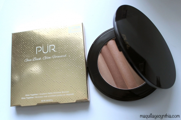 Glow Together - Bronzer mat-scintillant jumbo en dégradé