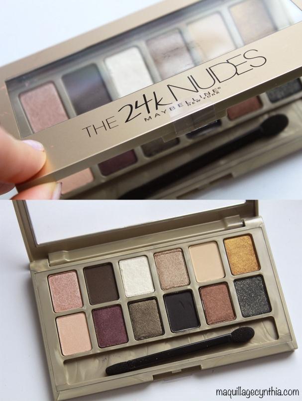 Palette The 24K Nudes
