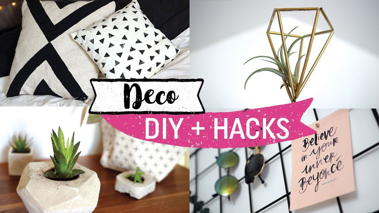 5 diy et hack d co pas cher maquillage cynthia. Black Bedroom Furniture Sets. Home Design Ideas