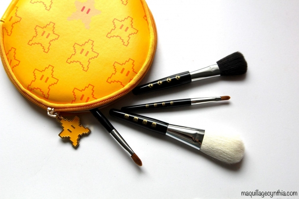 Set de pinceaux mini (Peach's Favorite Premium Brush Set)