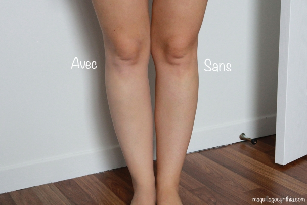 Maquillage Jambes et Corps