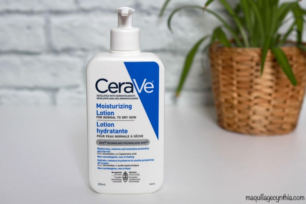 Lotion hydratante (peau normale à sèche)