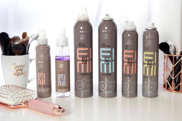 Test produits coiffants EIMI de Wella