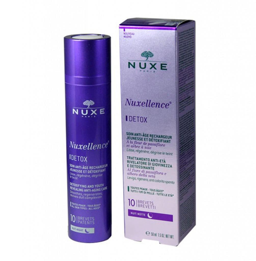 Crème de nuit Nuxellence Detox Nuxe