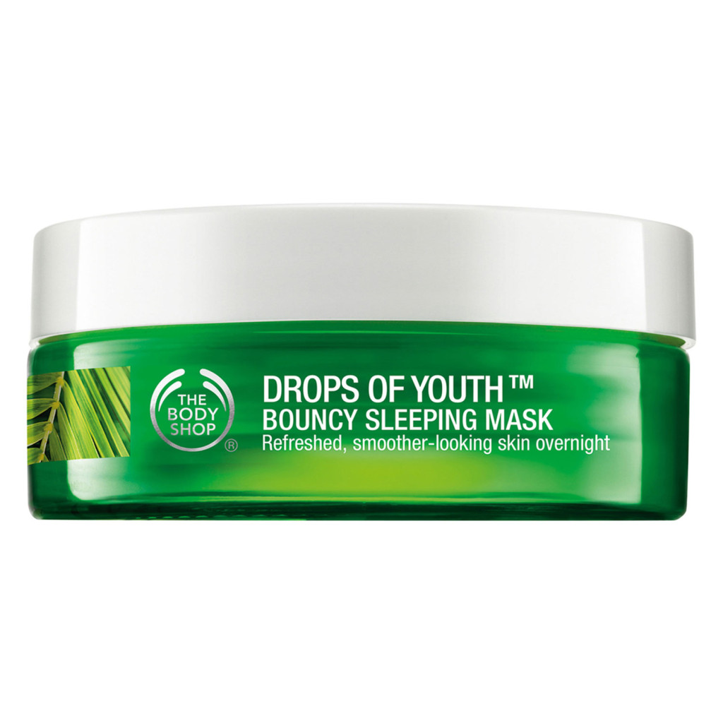 Masque de Nuit effet rebond Drops of Youth The Body Shop