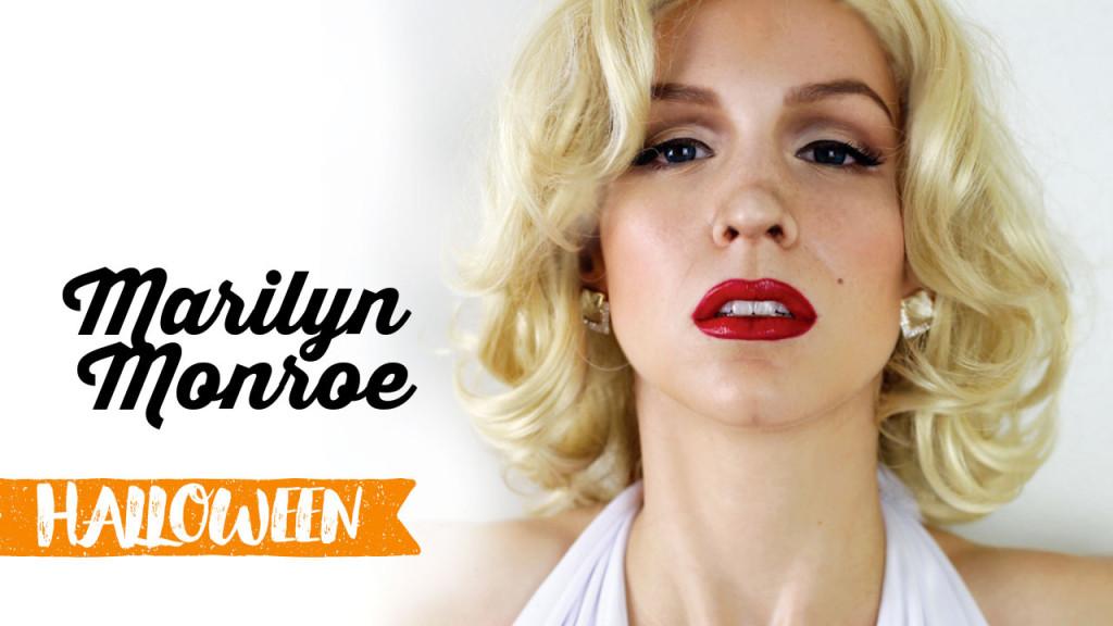 Maquillage d'Halloween : Marilyn Monroe