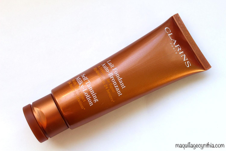Lait Fondant Auto-Bronzant Clarins | Maquillage Cynthia