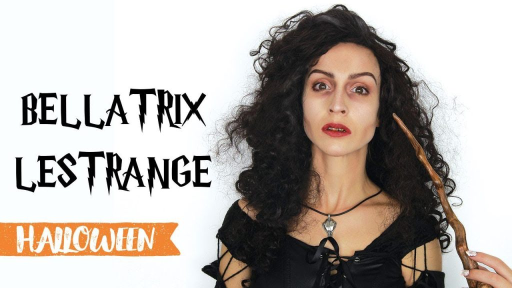 Maquillage d'Halloween : Bellatrix Lestrange