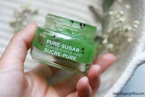 Exfoliant Sucre-Pure - Peau mixte/grasse