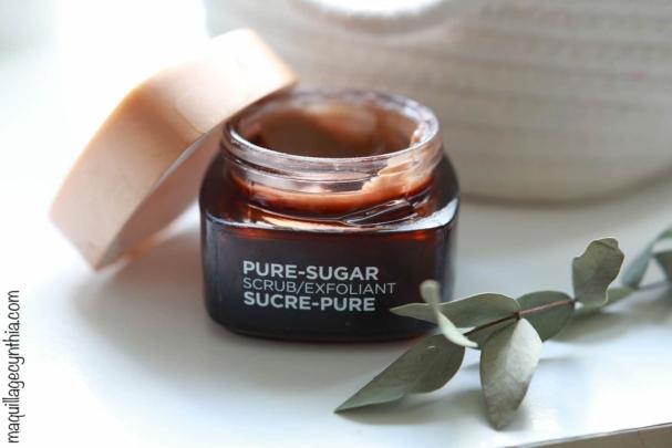 Exfoliant Sucre-Pure - Peau sèche