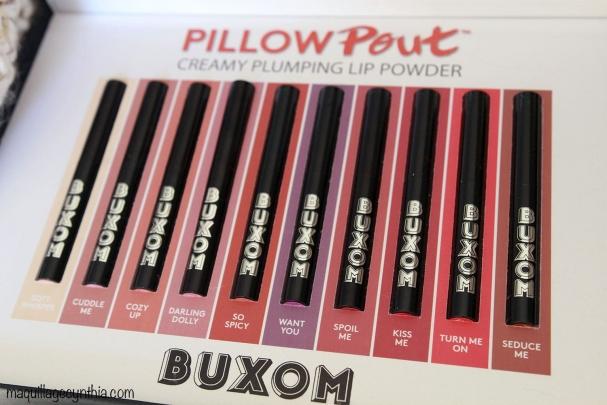 Poudre crémeuse Pillow Pout de Buxom