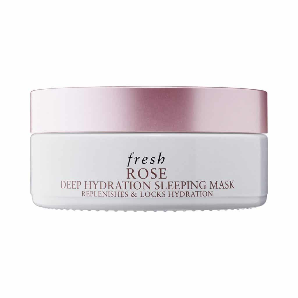 Masque de nuit hydratant en profondeur à la rose Fresh